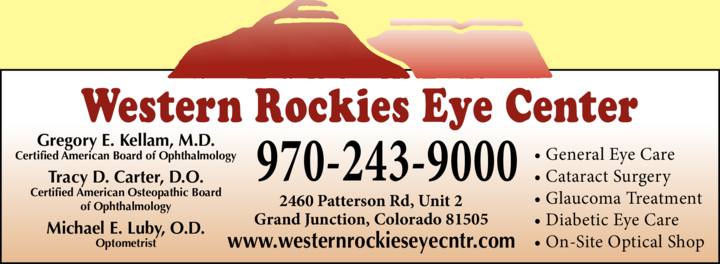 Western Rockies Eye Center logo