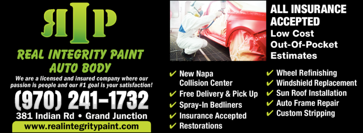 Print Ad of Rip / Real Integrity Paint Auto Body