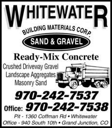 Print Ad of Whitewater Building Materials Corp