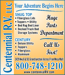 Yellow Pages Ad of Centennial Rv Llc