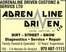 Yellow Pages Ad of Adrenaline Driven Customz & Service Ltd