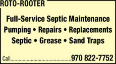 Print Ad of Roto-Rooter