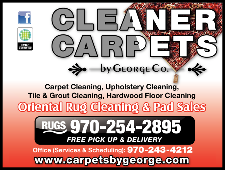 Print Ad of Cleaner Carpets By George Co