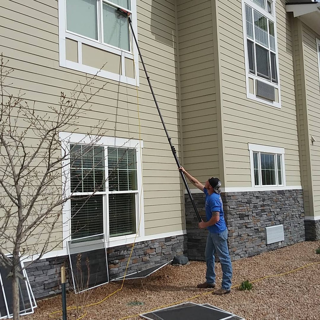 Photo uploaded by Above All Window Cleaning & Services