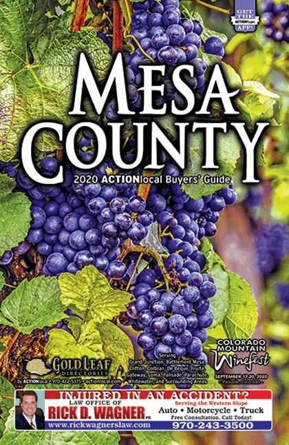 Mesa County Directory Cover