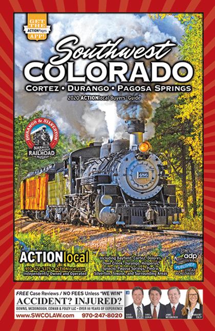Southwest Colorado Print Directory Cover